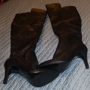 Women's Women's manmade heeled boots